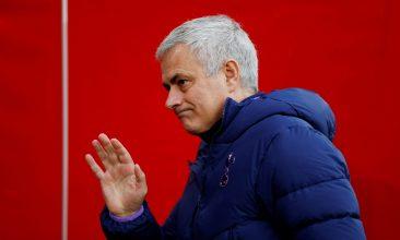 FOOTBALL - Mourinho had taken charge at Tottenham in November 2019, replacing Mauricio Pochettino. (Reuters Photo)