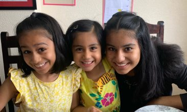 Column - PRECIOUS MEMORIES: Geeta  Aashish Patel's daughters