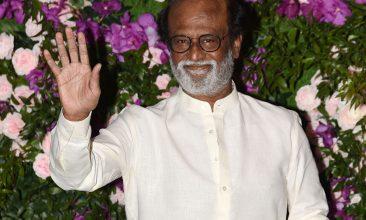 Entertainment - Rajinikanth (Photo by SUJIT JAISWAL/AFP via Getty Images)