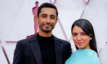 HEADLINE STORY - Riz Ahmed and Fatima Farheen Mirza attend the 93rd Annual Academy Awards at Union Station on April 25, 2021 in Los Angeles, California. (Photo by Chris Pizzello-Pool/Getty Images)