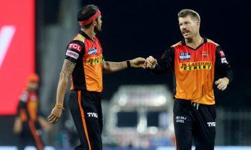 CRICKET - Australia's David Warner was part of Sunrisers Hyderabad in IPL 2021. (PTI Photo)