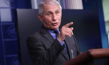 Covid in India - Dr Anthony Fauci, director of US National Institute of Allergy and Infectious Diseases. (Photo by Chip Somodevilla/Getty Images)