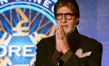Entertainment - Amitabh Bachchan (Photo by PUNIT PARANJPE/AFP via Getty Images)
