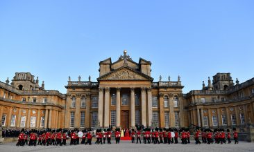 Arts and Culture - Blenheim Palace is the birth place of the great wartime British Prime Minister, Winston Churchill. (Photo by Ben Stansall - WPA Pool/Getty Images)