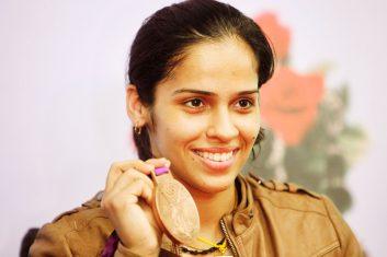 BADMINTON - Indian badminton star Saina Nehwal