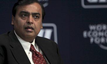 Business - Mukesh Ambani (Photo: Adeel Halim/Bloomberg via Getty Images).