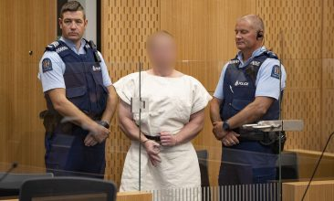 HEADLINE STORY - Brenton Tarrant in court last year. (Photo by Mark Mitchell-Pool/Getty Images)