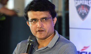 CRICKET - Sourav Ganguly