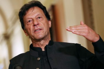HEADLINE STORY - Imran Khansaid Pakistan's intelligence agencies had successfully preempted at least four major attacks in the country, two of which targeted Islamabad. (Chip Somodevilla/Getty Images)