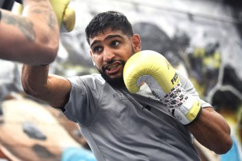 BOXING - Amir Khan   (Photo by Nathan Stirk/Getty Images)