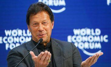 HEADLINE STORY - Pakistan's prime minister Imran Khan (REUTERS/Denis Balibouse).