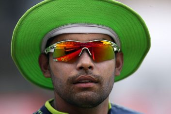CRICKET - Pakistan's Umar Akmal (MICHAEL BRADLEY/AFP via Getty Images)