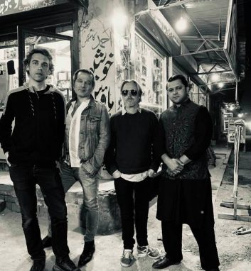 Arts and Culture - DYNAMIC: (From left) Rocqawali band members Jonas Stampe, Tin Soheili, Stephan Grabowski and Ejaz Sher Ali