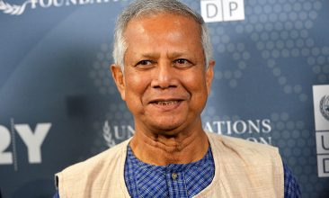 BANGLADESH - Nobel Peace Prize laureate and Grameen Bank founder Dr. Muhammad Yunus (Photo by Slaven Vlasic/Getty Images)