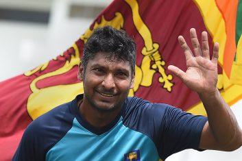 CRICKET - Sri Lankan cricketer Kumar Sangakkara (Ishara S.KODIKARA/AFP via Getty Images)