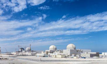ASIA - The Barakah power plant on the Emirates coast (Photo: Emirates Nuclear Energy Corporation)