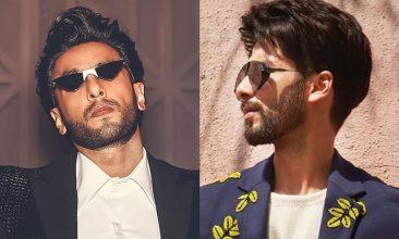 TOP LISTS - Instagram: Ranveer Singh, Shahid Kapoor