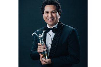 CRICKET - Tendulkar dedicates Laureus award to India