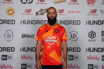 CRICKET - Moeen Ali of Birmingham Phoenix (Photo by Christopher Lee/Getty Images for ECB)