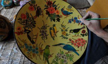 FEATURES - Papier Mache Plate (Photo: SAJJAD HUSSAIN/AFP via Getty Images).