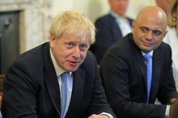 Comment - Boris Johnson (L), Sajid Javid (Photo: AARON CHOWN/AFP via Getty Images).