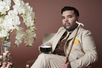 Entertainment - Naughty Boy poses as Jay Gatsby to raise awareness of Dementia UK's Time for a Cuppa campaign