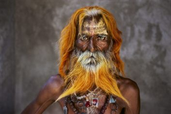 FEATURES - An elderly man from the Rabari Tribe (as featured in Steve McCurry's India)