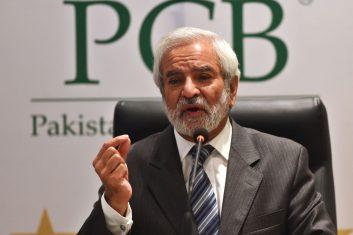 CRICKET - Pakistan Cricket Board Chairman Ehsan Mani (File photo)