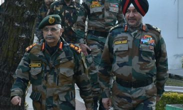 INDIA - Indian Army chief General MM Naravane (left) says the recent Supreme Court order granting permanent commission and command postings to women officers gives clarity on moving forward. (Photo: Twitter/@adgpi)