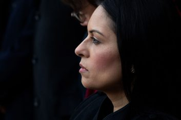 HEADLINE STORY - Home Secretary Priti Patel has been caught in a vortex of allegations on her ways of functioning, and working relationship with MI5. (Leon Neal/Getty Images)