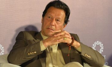 """Column - This is something that appears to have escaped Imran Khan. A week ago, Pakistan's prime minister said: """"I will never forget how we Pakistanis were embarrassed when the Americans came into Abbottabad and killed Osama bin Laden, martyred him."""" (Photo: AAMIR QURESHI/AFP via Getty Images)."""