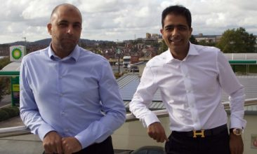 Business - Zuber (L) and Mohsin Issa.