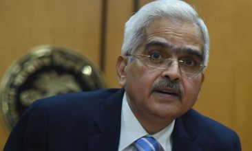 Business - FILE PHOTO: Governor of the Reserve Bank of India (RBI) Shaktikanta Das speaks during a press conference in Mumbai. (Photo by PUNIT PARANJPE/AFP via Getty Images)