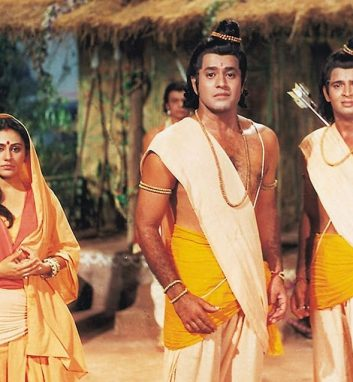 Entertainment - A still from television series Ramayan
