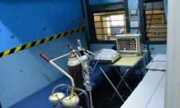 Coronavirus - A view of the isolation ward set up by Indian Railways. (Courtesy: Twitter)