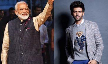 Entertainment - Instagram: Prime Minister Narendra Modi, Kartik Aaryan