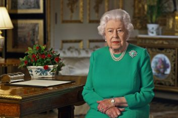 Comment - The Queen addresses the nation and the Commonwealth in relation to the coronavirus epidemic (COVID-19). (Reuters)