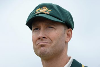 CRICKET - Former Australian captain Michael Clarke (Photo by Gareth Copley/Getty Images)