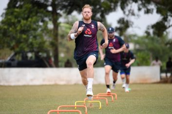 CRICKET - File photo of Ben Stokes during a nets session. (Photo: Gareth Copley/Getty Images)